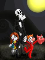 The Grim Nightmare Before Xmas by Biskuits