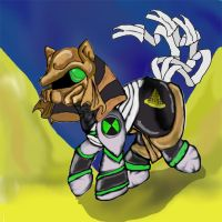 Ben 10 Cross-Over : Mummy Pony by dragonfire53511
