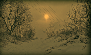Winter landscape by DestinyGraphic
