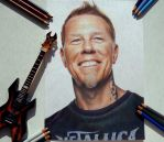 James Alan Hetfield (Metallica) by Alena-Koshkar