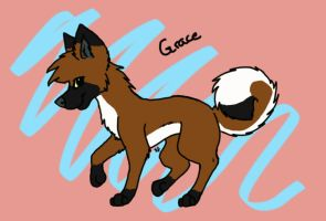 Grace by CinnabarTheDog
