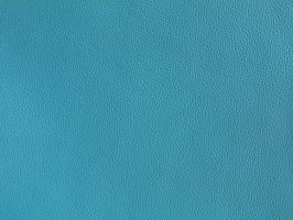 Teal Leather Texture Bright Blue Design Fabric by TextureX-com