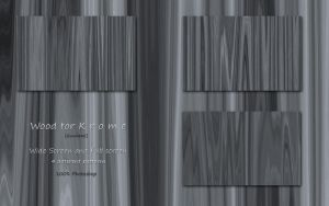 Wood for K r o m e - Gunmetal by vStyler