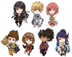 Tales of Vesperia Stickers by fir3h34rt