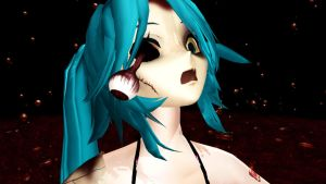 DOWNLOAD Zombie miku by lunar-elegance