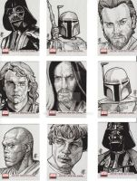 Star Wars Galaxy Cards 3 by prmedia