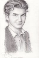Roger Federer by Crayon-Panchan