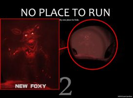 Five Nights at Freddy's 2 - NEW FOXY (New version) by GEEKsomniac
