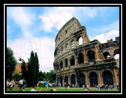 Flavian Amphitheater-Color by lehPhotography