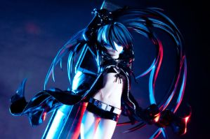 Black Rock Shooter -Original Ver.- by Etherien