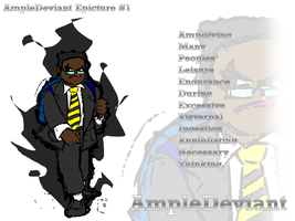 Ampicture #1 : AmpleDeviant by AmpleDeviant