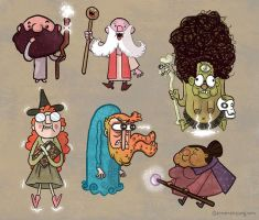 CRAZY WIZARDS!!!! by annamariajung