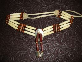 Native American Choker by jadepyper