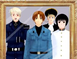 HetaOni II Game MMDs: I am with my friends. by Rin1997Katy