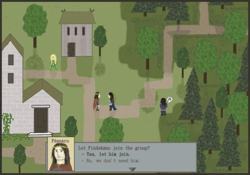 Noldorin RPG screenshot by Gwenniel