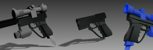 AEF Officer's Pistol by 43616b65537079