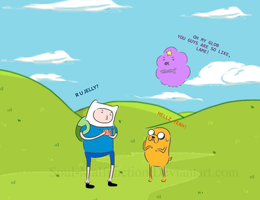 Adventure Time -Background- by Soul-Malfunction