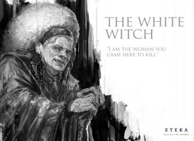 The White Witch Profile - Eteka Rise of the Imamba by derylbraun