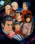 Star Trek Six collage by choffman36