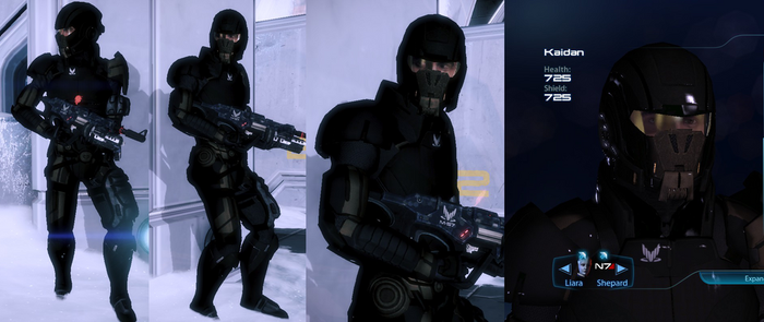 Kaidan Spectre Armour (Alliance Warpack) by survivor686
