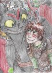 HTTYD DotDR - Red is our color! by Hukkis