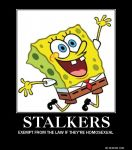 Spongebob the Stalker by Sutiiven-no-Okami