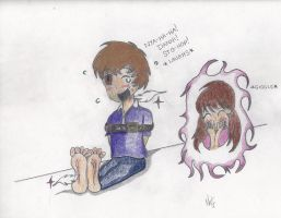 Color Test - Nathan Tied and Tickled by Danni by NatJack