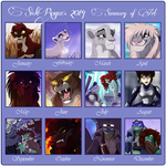 SickRogue's Summary Of Art 2014 by SickRogue