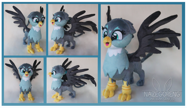 Gabby Griffon Custom Plush by Nazegoreng