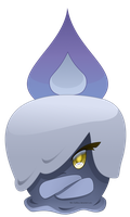 607 - Litwick (with speedpaint video) by Hot-Gothics