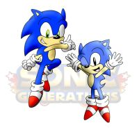 Sonic Generations by speediothehedgehog