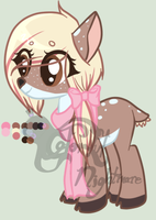 MLP winter themed adopt auction CLOSED by Nightmares-Adopts