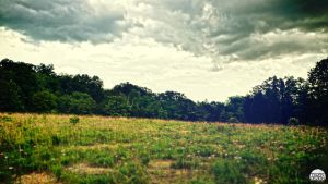 Field and Clouds by OwenB23