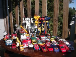 My Classics/Universe Transformers collection,a WIP by forever-at-peace