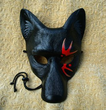 Tattoo Wolf Mask V3 by merimask