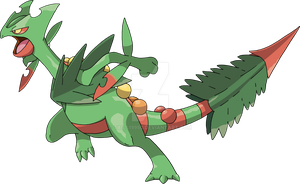 254 - Mega Sceptile by Tails19950