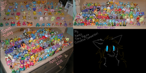 Tomy Collection Comparison by doryphish333