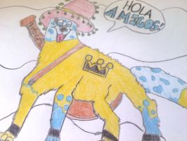 The Mexican Wolfie by KingdomHeartsWolfie9