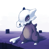 Cubone by Yuna-Dragon