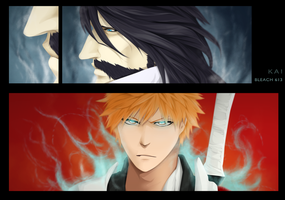 The Meeting (Bleach 613) by KAI314