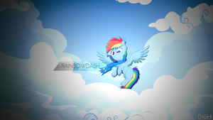 Rainbowdash - Wallpaper [1920x1080] by R4inbowbash