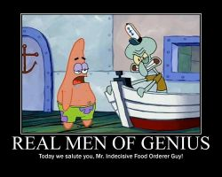Real Men Of Genius - Patrick by grimmjack