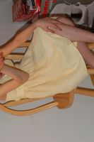 Girl In Yellow Dress 9 by WITCHCRAFTY-STOCK