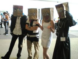 Paper Bag Brigade by puredgnr8