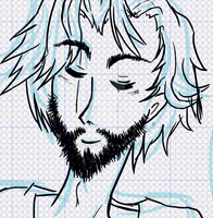 Scruffy Ballister Sketch by magicalclaire