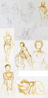 Life Drawing Oct 16 08 by eruanna