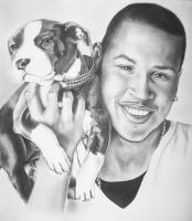Chris Brown by deona
