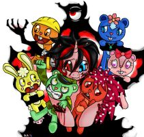 I Love Happy Tree Friends by BlazeHart96