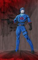 Cobra Commander by JohnJett