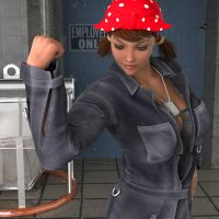 Rosie The Riveter by RonyZee